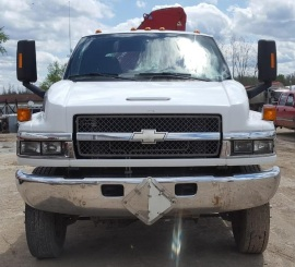 2007 Chevy C5500 Service Truck front