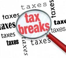 tax breaks image